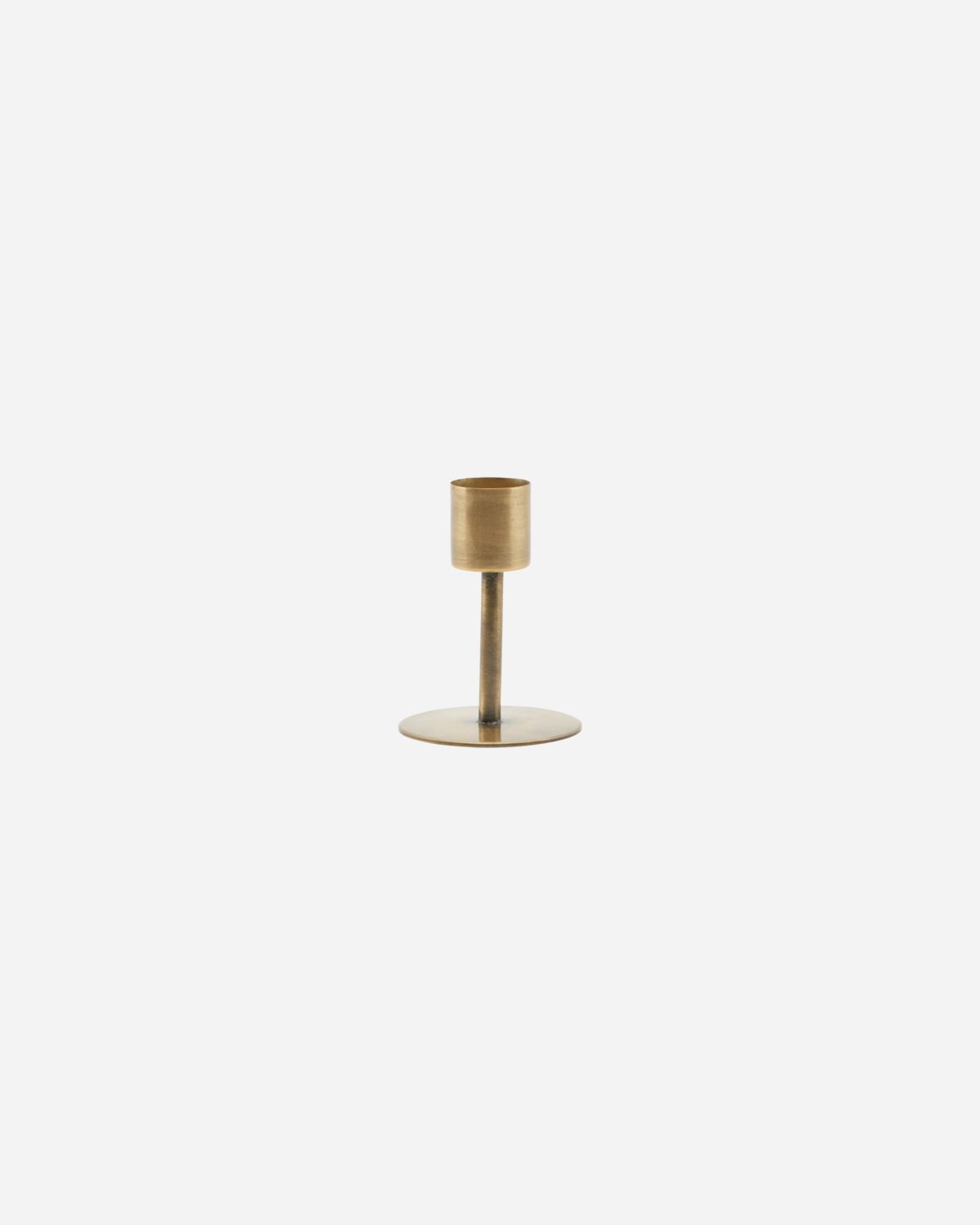 Candle stand, Anit, Antique brass