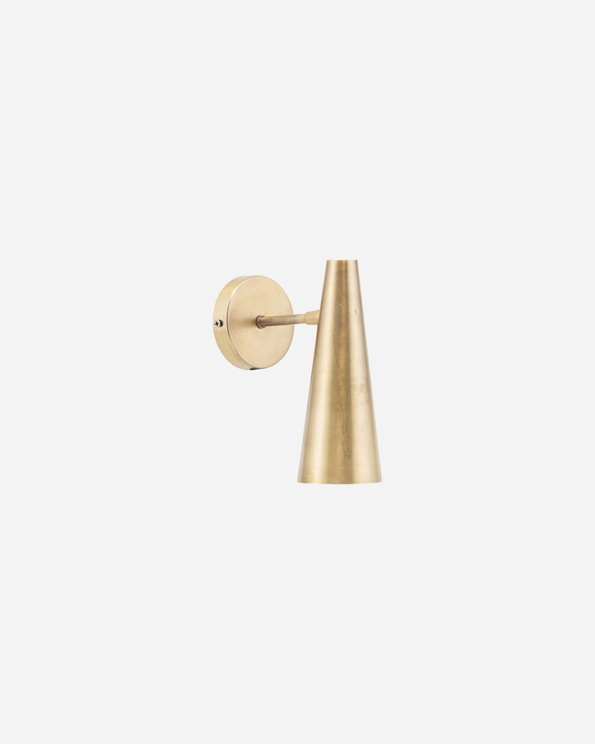 Wall lamp, Precise, Brass, E14, Max 6 W (LED), 2.5 m cable
