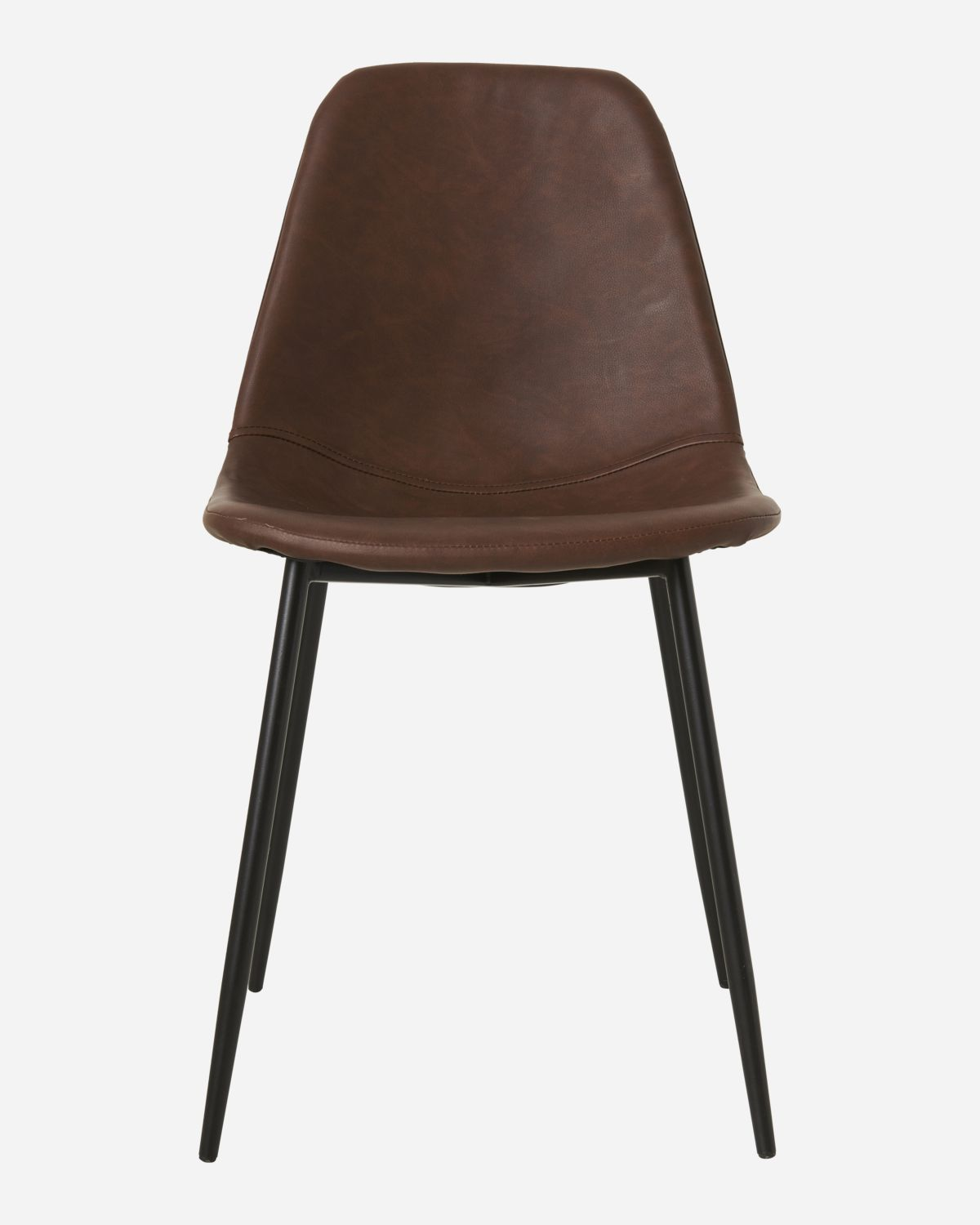 Chair, Found, Brown, Seat height: 46  cm